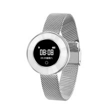 Microwear ceramic Women <strong>smart</strong> bracelet <strong>watch</strong> band X6, heart rate steps BP multi-mode sport message calling remind IP68waterproof