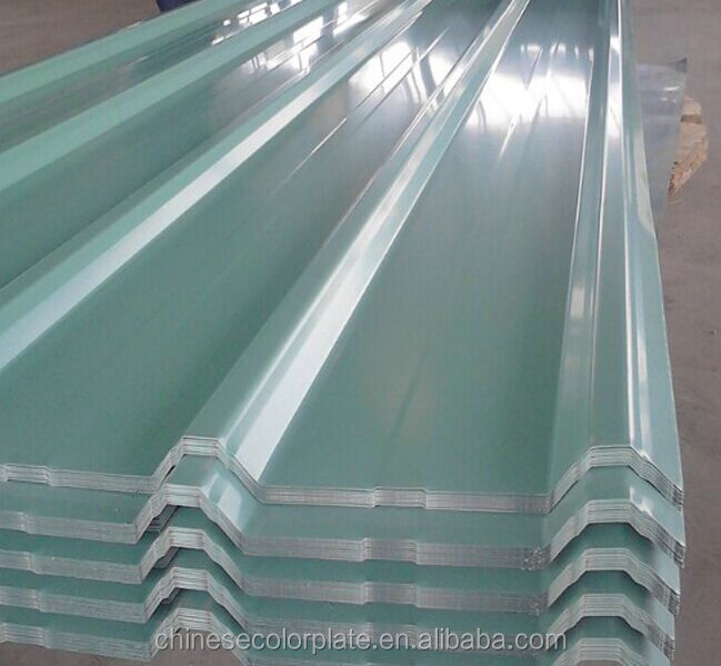Painted Corrugated Steel Roofing Sheets Panel Color Coated Metal Roof