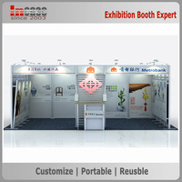 10x20ft Modular aluminum quick install adjustable trade show booth