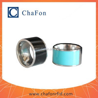nfc smart ring can put Ntag203/210/213/215/216 chip inside with Waterproof and Dustproof function
