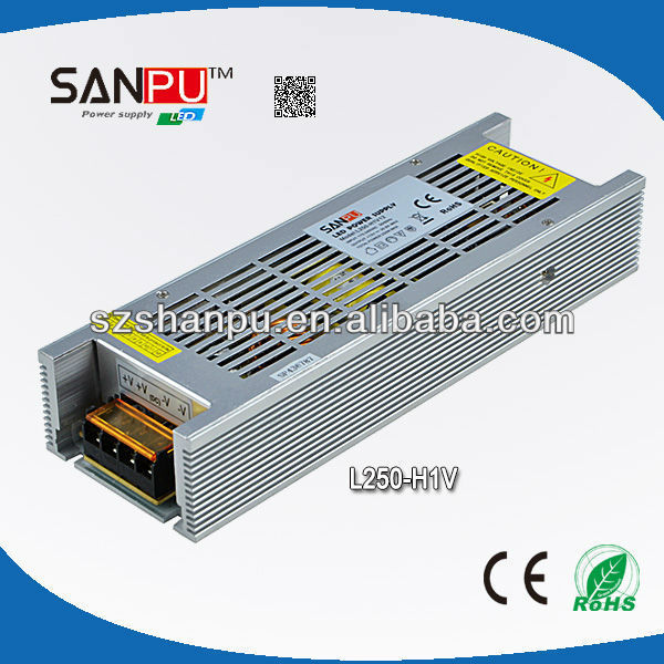 Shenzhen SANPU CE ROHS approved 250W 12v led power transformers driver for led bulb traffic light power supply