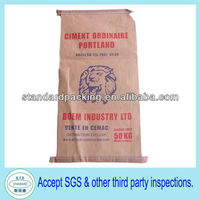 china ordinary portland cement 50kg valve bag price
