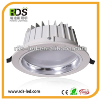 High quality cut out 145mm led lights drop ceiling recessed