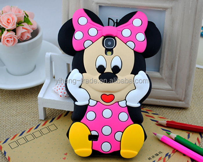 Wholesale Case For samsung galaxy s4 monkey minnie mouse cell phone defender cases cover for samsung galaxy s IV i9500