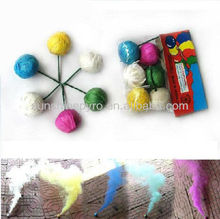 big clay smoke ball fireworks for kids color smoke fireworks
