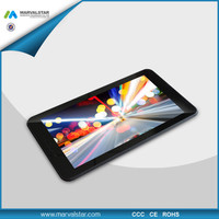 2014 New Arrival MTK8732 Quad Core 1024*600, 1G+8G,0.3M+2.0M,3M10B 7 inch smartphone 4g with NFC,Powerful GPS Function