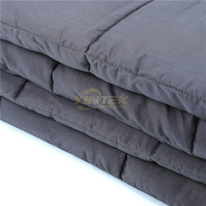 "Deeper better faster sleep soft heavy sensory 60""*80"" gravity weighted blanket"