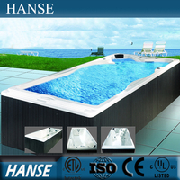 HS-K609 large luxury canadian adult air jet outdoor swimming pool
