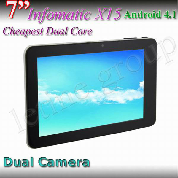 2013 NEW arrivels Tablet pc 7 inch Q88 Dual Core Android 4.1 Capacitive Screen HDMI Bluetooth Camera Hot selling