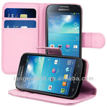 C&T Leather Stand for samsung galaxy s4 flip cover case