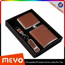 <strong>Gifts</strong> for men flask key ring case leather corporate <strong>gifts</strong>