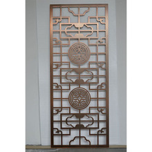 Customized quality modern design metal lattice room divider