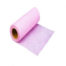 Non-woven Fabric Rolls 100% Rayon Spunlace Cleaning Cloth