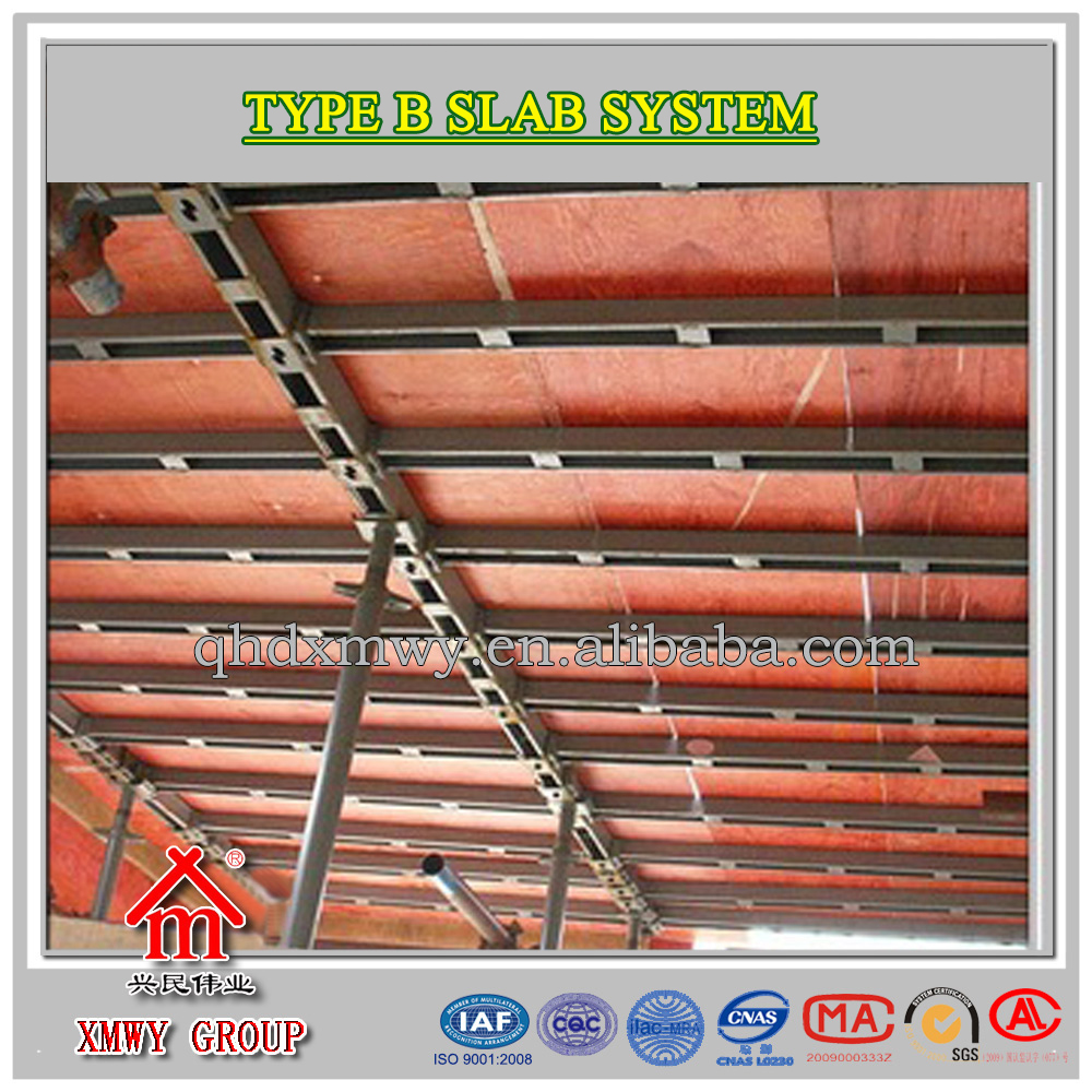 Qinhuangdao slab formwork system metal building materials