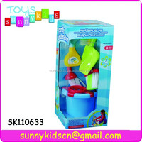 funny cleaning supplies toys family set toys with high quality