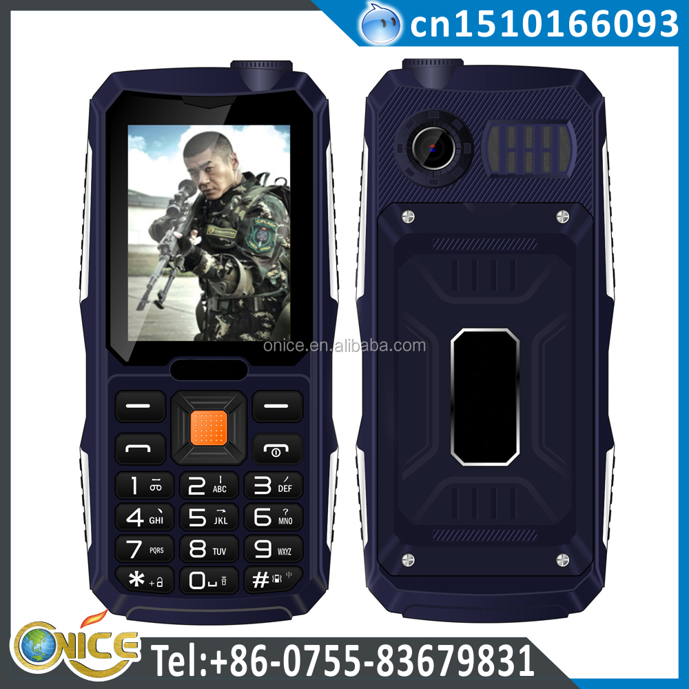 Low Price Simple China cdma Small Size Mobile Phone 2.4'' K19 OS Qualcomm Rex with Powerful Flashlight