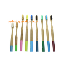 Bamboo Rounded Handle 100% Biodegradable Bamboo Toothbrush