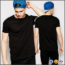 KY wholesale Soft-touch cotton jersey T-Shirt With Crew Neck tshirts men custom