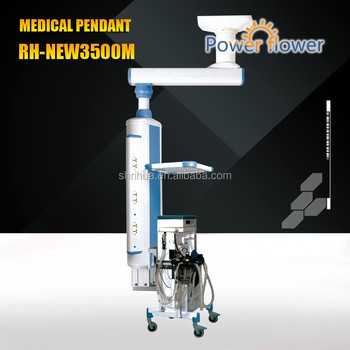 FDA,ISO 13485,CE approved good price Electric surgical tower crane RH-60S/double loops pendants/Hospital ceiling pendant