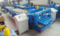 High Quality Roofing Color Metal Glazed Tile Cold Roll Forming Machine