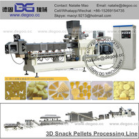 Snack pellets fried papad pellets production line