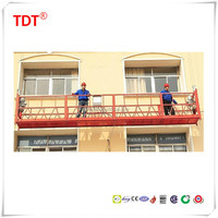 China construction building decoration,maintenance suspended platform/swing stage