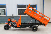 150CC,200CC,250CC,300CC,350CC,400CC three wheel motorcycle with tipper