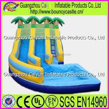 Commercial inflatable pool water slides,cheap inflatable slides for sale