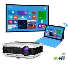 HOT Android Wifi Projector LCD HOME THEATER MULTIMEDIA 3D LED PROJECTOR HDMI FULL HD 1280*800
