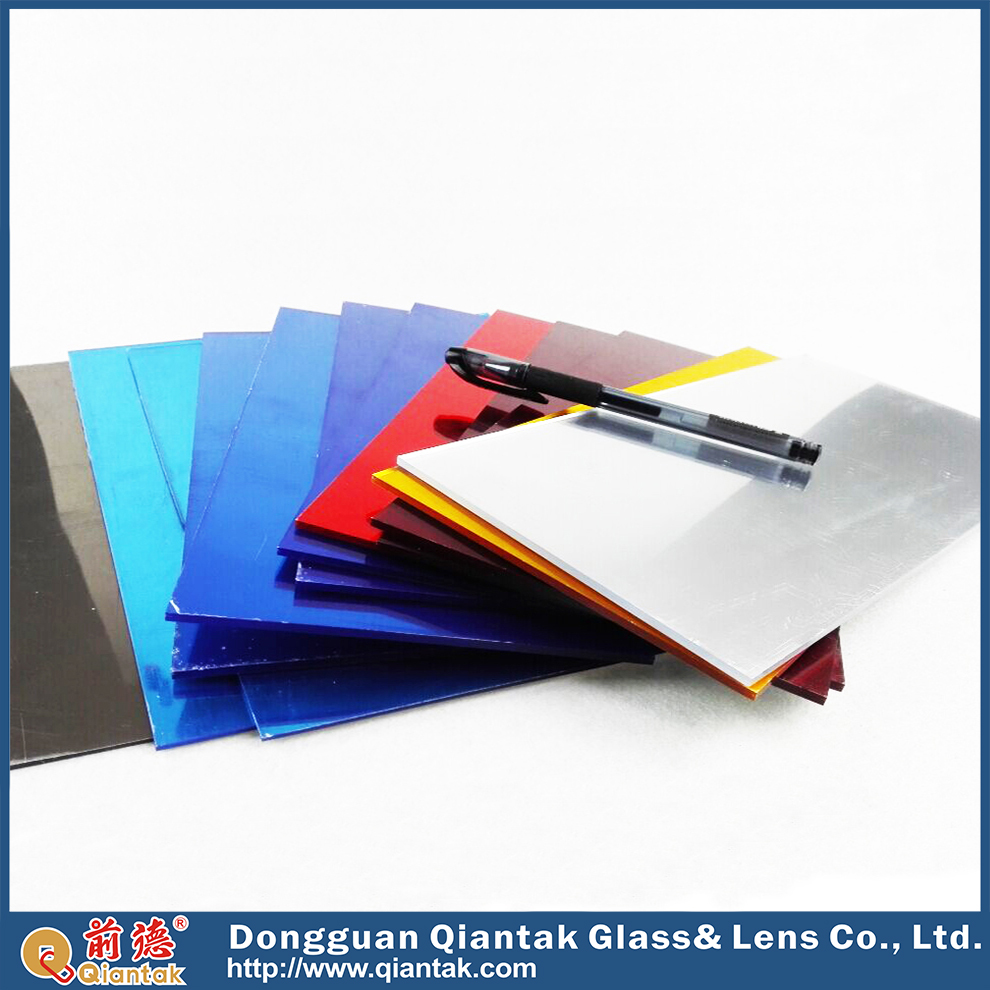 Different Colored Two-way 2mm Mirror Glass Wholesale