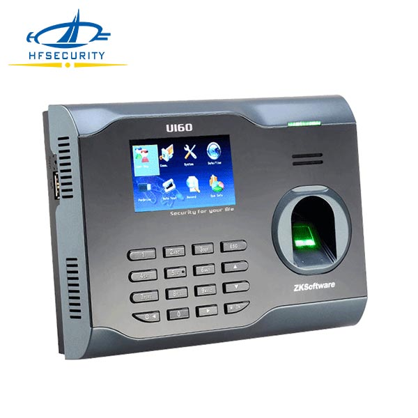 Staff Working Employee Biometric Fingerprint Time Recording Attendance Machine with Software (HF-U160)