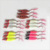 Colorful metal blade reflective casting spoon lure fishing lure