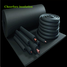 Elastomeric rubber spong insulation tube pipe materials for air conditioning