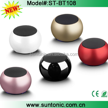Super mini TWS bluetooth speaker,2 speakers can connect one mobile at same time