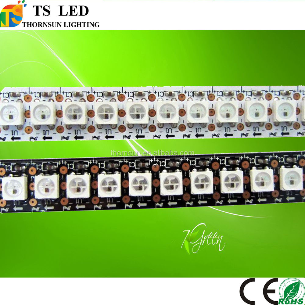 individually addressable 5 volt 144 led ws2812b flex pixel led strip with ws2812b