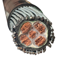 0.6/1kV LV Copper conductor Steel wire armoured XLPE insulated underground power cable SWA cable