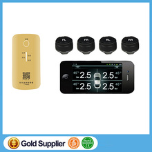 Car TPMS Bluetooth Tire Pressure Monitoring System APP Display Support Android and IOS APP