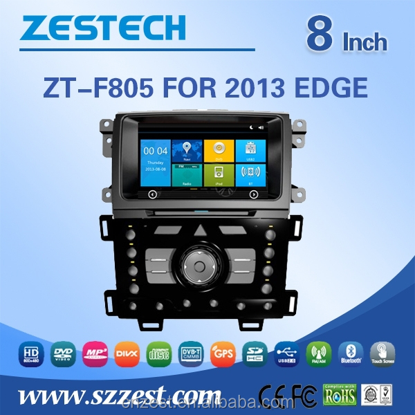 MOST PROFESSIONAL headrest car dvd player for Ford EDGE 2013 dvd with dvd gps navigation