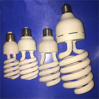 FACTORY PRICE! 45W 60W Half Spiral energy saver lamp light bulb