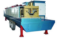 Liaoning CS-914-610(240) arch building metal roof penal roll forming machine/ curving roof forming machine