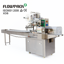 Automatic Lipstick Pack Wrapper Pillow Bag Wax Strip Packaging Equipment Horizontal Flow Cosmetic Packing Machine
