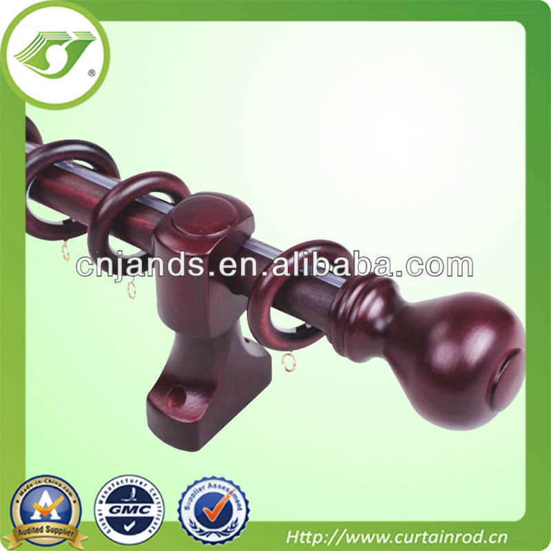 [JNS]35mm curtain rod/ wooden curtain rod