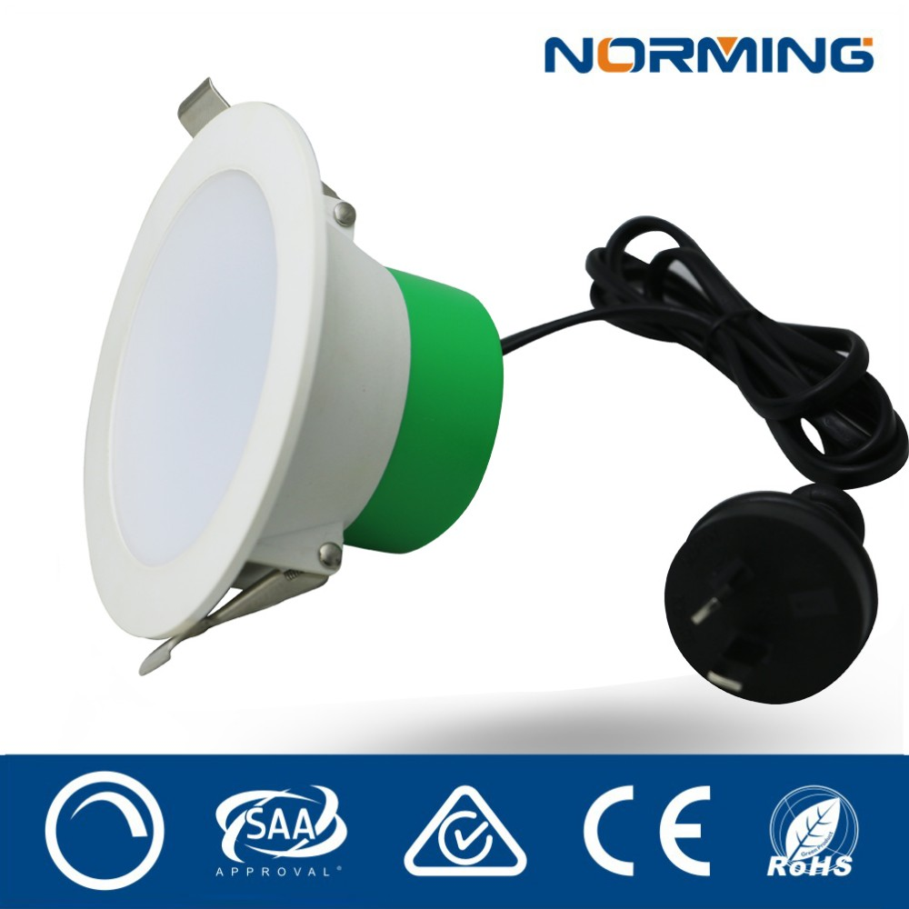 Top ten led manufacturers in China 10w led recessed downlight, dimmable 10w inbuild driver led panel light