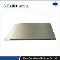 High quality molybdenum TZM alloy Plate factory