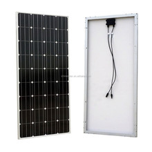 100 watt monocrystalline photovoltaic solar panel for home off grid system