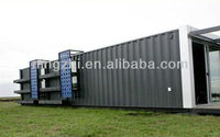 Model shipping container home