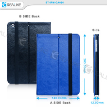 Professional handwork pu leather stand flip wireless keyboard case for apple ipad mini