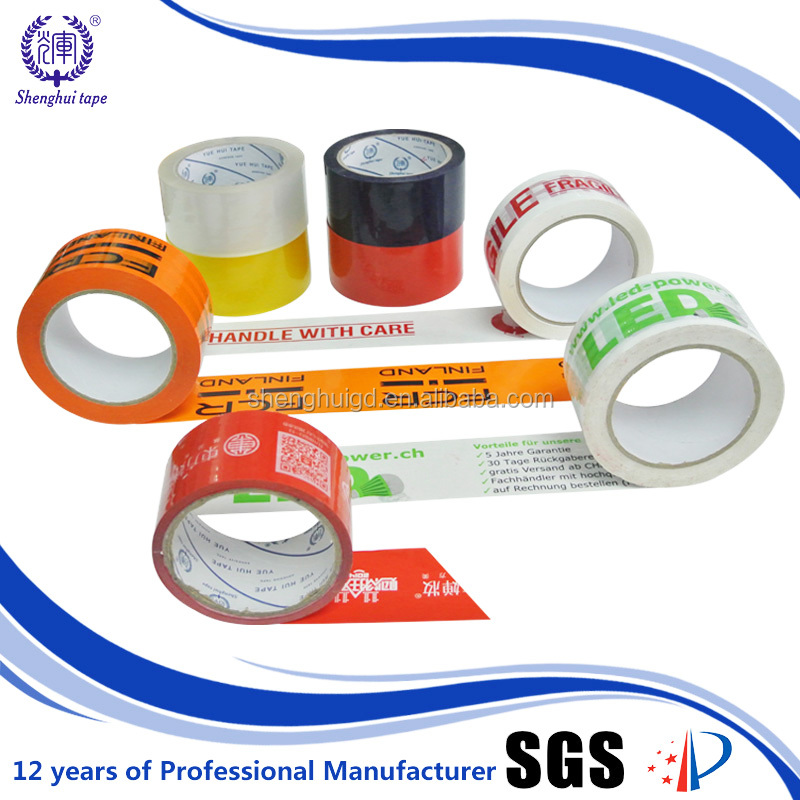 Carton Sealing Bopp Acrylic Tear Self Adhesive Waterproof Tape