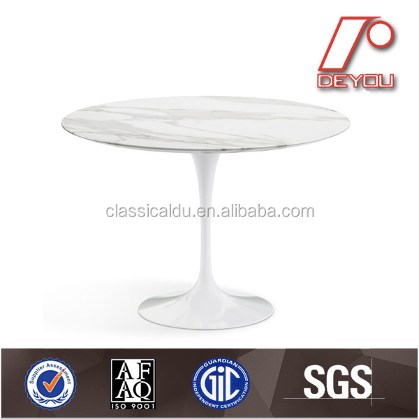 marble dining table, mable coffee table, tulip mable table CT-605