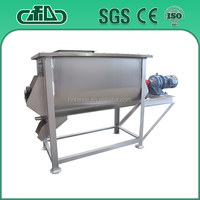 Stainless steel small animal feed mixer